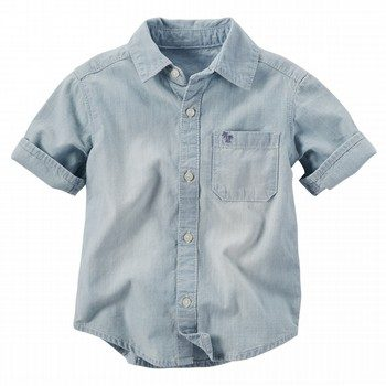 Carter's S/S Chambray Woven Shirt