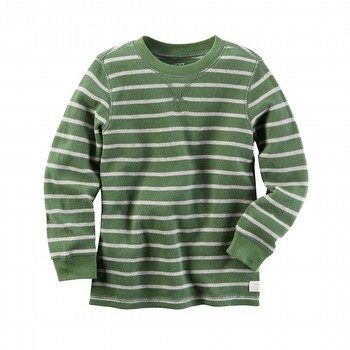 Carter's L/S Striped Thermal Tee