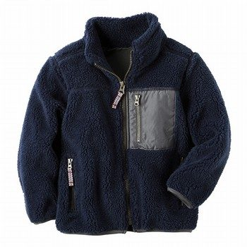 Carter's L/S Sherpa Fleece Jacket
