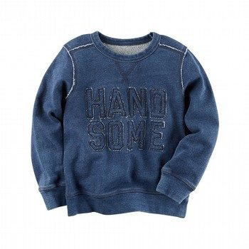 Carter's Handsome French Terry Pullover