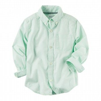 Carter's Pinstripe Button-Front Shirt