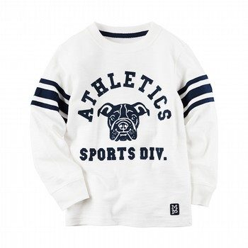 Carter's L/S Athletic Graphic Tee