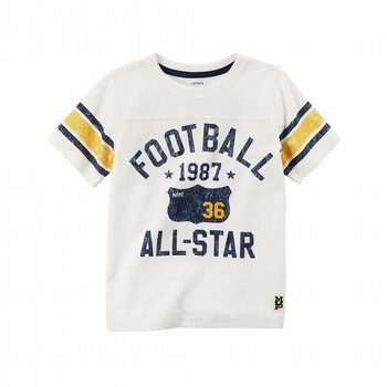 Carter's Football All-Star Graphic Tee