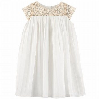 OshKosh Sequin Pleated Dress
