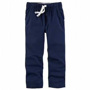 Carter's Jersey-Lined Poplin Pants