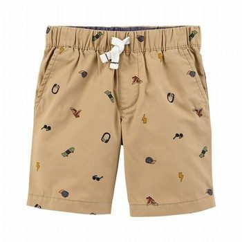 Carter's Easy Pull-On Schiffli Shorts