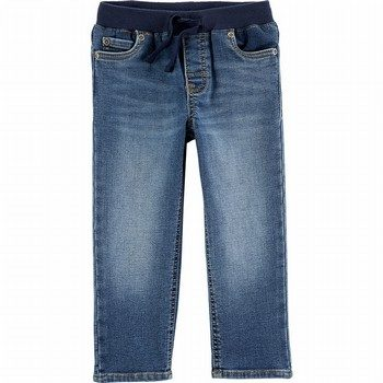 Carter's Easy Pull-On Knit Denim Pants
