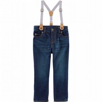 Carter's Suspender Denim Jeans