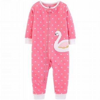 Carter's Snug Fit Fleece Onepiece Footless PJs