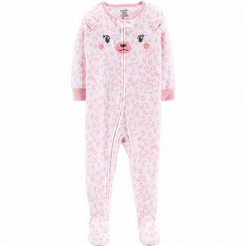 Carter's Snug Fit Fleece Footed Onepiece PJs