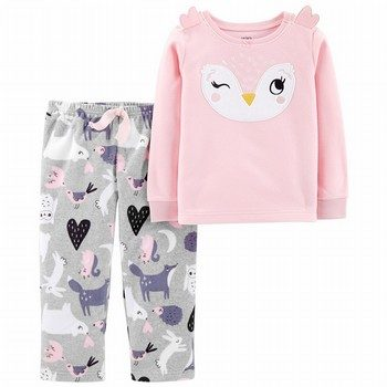 Carter's 2PC Owl Fleece PJs