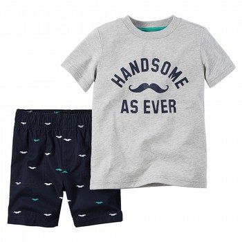 Carter's 2PC Tee & Short Set