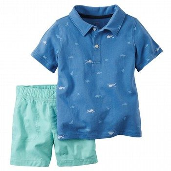Carter's 2PC Shirt & Short Set