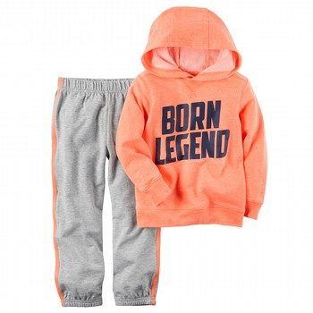 Carter's 2PC French Terry Hoodie & Jogger Set