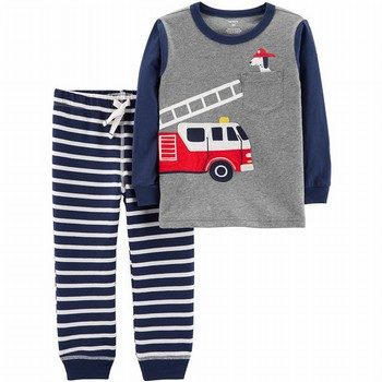 Carter's 2PC Tee & Striped Jogger Set