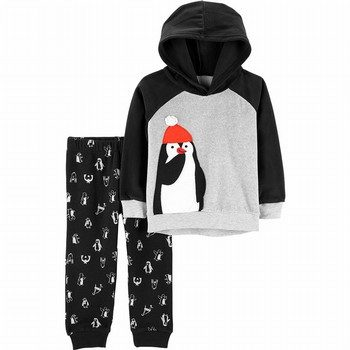 Carter's 2PC Fleece Hoodie & Jogger Set