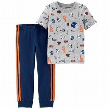 Carter's 2PC Sports Tee & Jogger Set