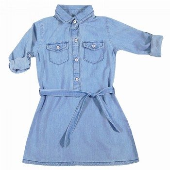 Carter's  Chambray Shirt Dress Denim