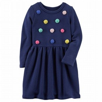 Carter's L/S French Terry Dress