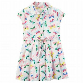 Carter's Butterfly Poplin Dress
