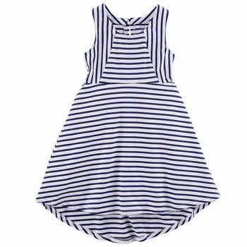 Carter's Striped Hi-Lo Jersey Dress