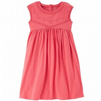 Cater's Embroidered Babydoll Dress