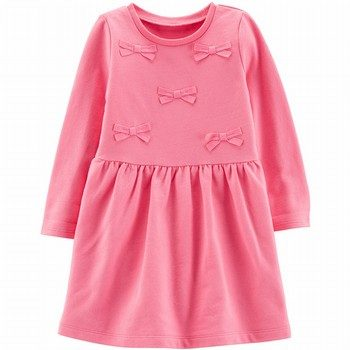 Carter's Bow French Terry Dress