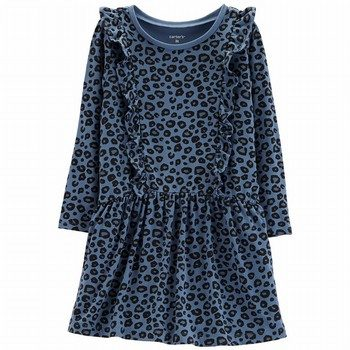 Carter's Cheetah Ruffle Dress