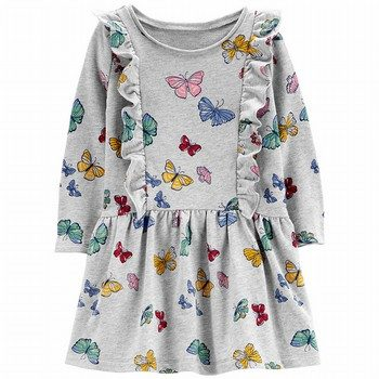 Carter's Butterfly Ruffle Dress