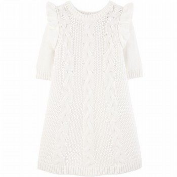 Carter's Cable Knit Sweater Dress