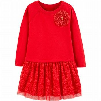 Carter's Bow Holiday Dress
