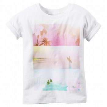 Carter's Graphic S/S Top
