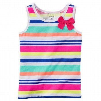 Carter's Striped Bow Tank