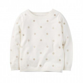 Carter's Glitter Dot Sweater
