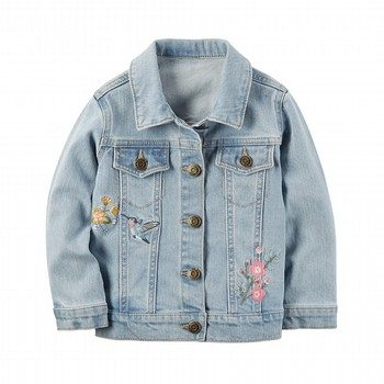 Carter's Embroidered Denim Jacket