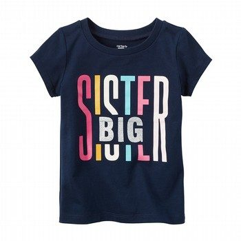 Carter's Big Sister Graphic Tee