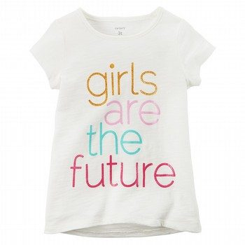 Carter's Girls Are The Future Graphic Tee