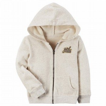 Carter's Patch Zip-Up Hoodie