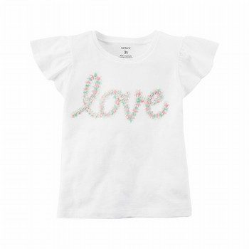 Carter's Love Flutter Tee