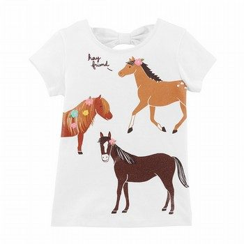 Carter's Horse Bow-Tie Matchtastic Tee