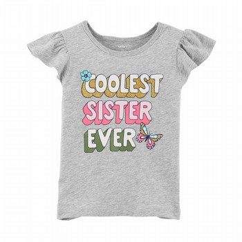 Carter's Coolest Sister Ever Matchtastic Tee