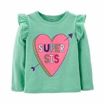 Carter's Super Sis Heart Tee