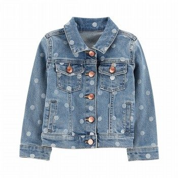 Carter's Polka Dot Denim Jacket