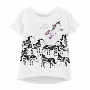 Carter's Unicorn Hi-Lo Tee