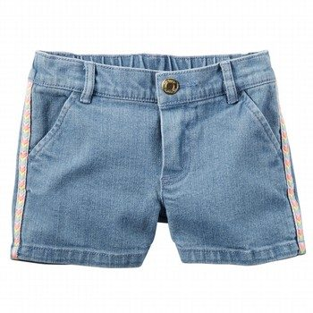 Carter's Denim Tiered Short