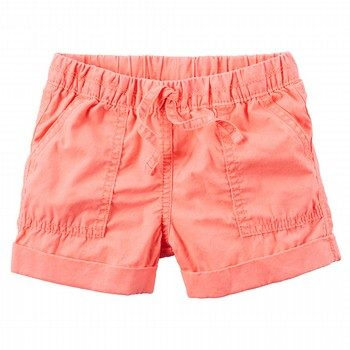 Carter's Pull-On Neon Poplin Shorts
