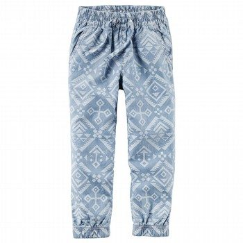 Carter's Chambray Southwest Joggers