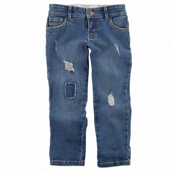 Carter's 5-Pocket Distressed Loose-Fit Jeans