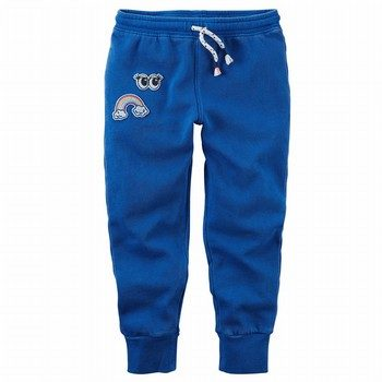 Carter's Garment-Dyed Patch Joggers