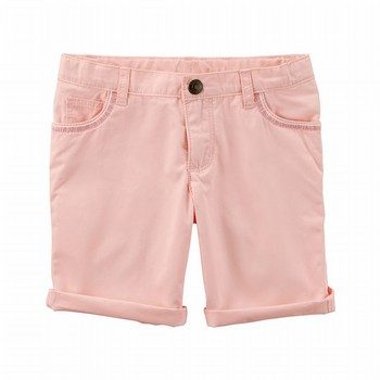 Carter's Embroidered Twill Shorts